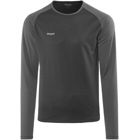 Bergans Slingsby Long Sleeve Men Black/Solid Charcoal